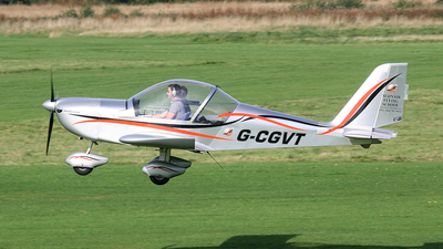 G-CGVT - Evektor EV97 Eurostar - Mainair Flying School