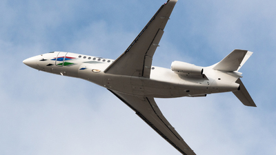 D-AGBE - Dassault Falcon 7X - VW Air Services