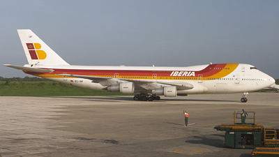EC-IAF - Boeing 747-256B(M) - Iberia