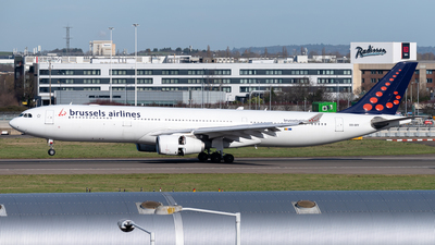 A picture of OOSFF - Airbus A330343 - Brussels Airlines - © Flying no nozomi