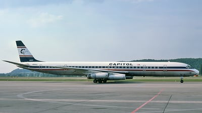 N910CL - Douglas DC-8-63(CF) - Capitol International Airways