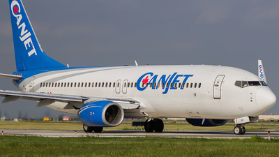 C-FTCX - Boeing 737-8AS - CanJet Airlines