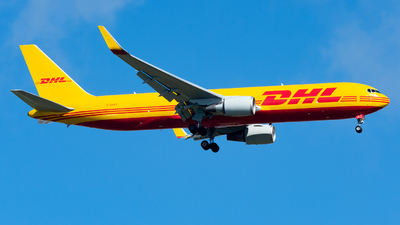 A picture of GDHLF - Boeing 7673JHF(ER) - DHL - © Yang Qize
