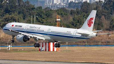 B-6712 - Airbus A321-213 - Air China