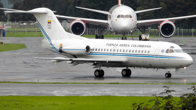A picture of FAC1041 - Fokker F28 Fellowship -  - © david pareja