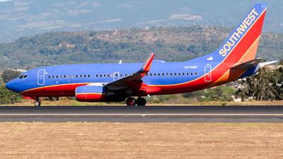 A picture of N7728D - Boeing 7377BD - Southwest Airlines - © Ivan Jimenez Rojas
