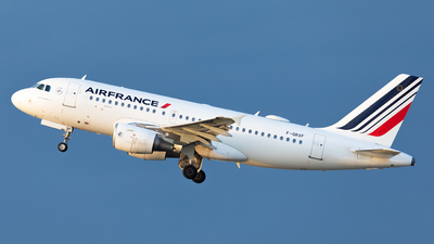 A picture of FGRXF - Airbus A319111 - Air France - © Gilles ASTRE