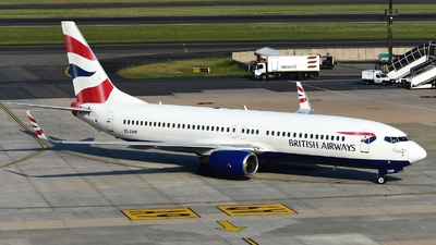 ZS-ZWP - Boeing 737-86N - British Airways (Comair)
