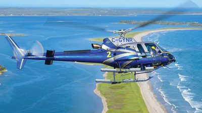 C-GYNR - Airbus Helicopters H125 - Canada - Nova Scotia Department of Natural Resources