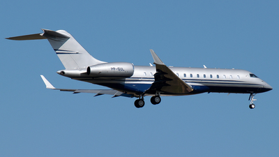 PP-GUL - Bombardier BD-700-1A10 Global 6000 - Private