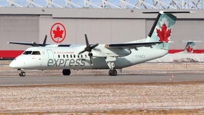 A picture of CFACV - De Havilland Canada Dash 8300 - Air Canada - © Guy Langlois