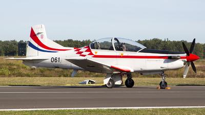 061 - Pilatus PC-9M - Croatia - Air Force