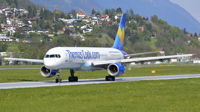 G-FCLI - Boeing 757-28A - Thomas Cook Airlines