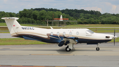 N417KC - Pilatus PC-12/45 - Private