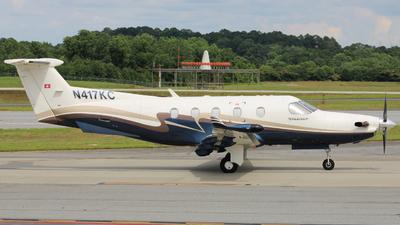 A picture of N417KC - Pilatus PC12/45 - [417] - © ajwebb