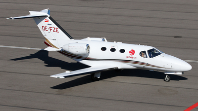 OE-FZE - Cessna 510 Citation Mustang - GlobeAir