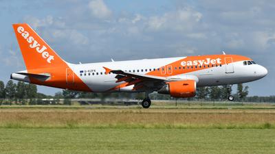 G-EZFK - Airbus A319-111 - easyJet