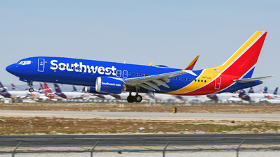 N8722L - Boeing 737-8 MAX - Southwest Airlines