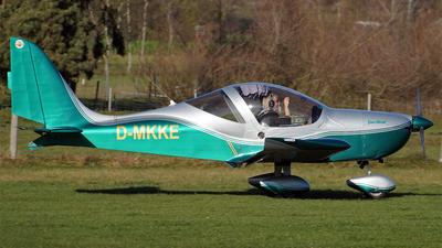 D-MKKE - Evektor EV97 Eurostar - Flugring Zell am See