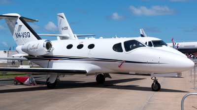 VH-VSQ - Cessna 510 Citation Mustang - Singapore Flying College