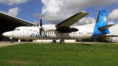 XA-UZG - Fokker 50 - Mayair