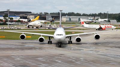 HS-TNE - Airbus A340-642 - Thai Airways International
