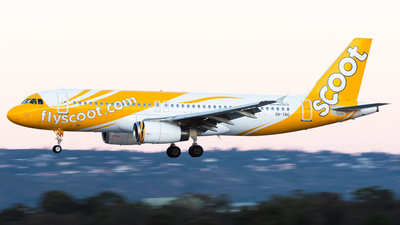 9V-TRC - Airbus A320-232 - Scoot