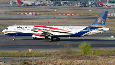 SU-BQN - Airbus A321-231 - Nile Air