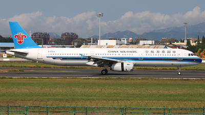 A picture of B6353 - Airbus A321231 - China Southern Airlines - © SEN BAI