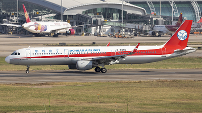B-8602 - Airbus A321-211 - Sichuan Airlines