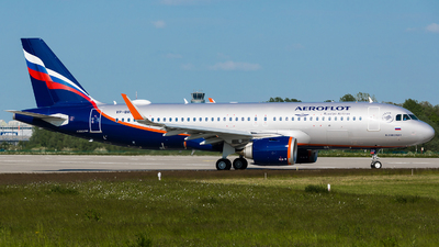 A picture of VPBRG - Airbus A320251N - Aeroflot - © Martin Rogosz