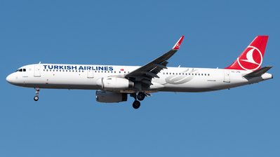 TC-JTD - Airbus A321-231 - Turkish Airlines