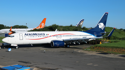 G-TUKC - Boeing 737-8FZ - Aeroméxico