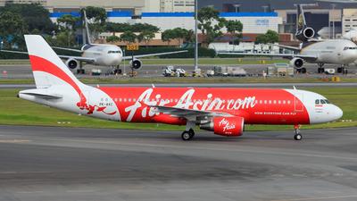 PK-AXC - Airbus A320-216 - Indonesia AirAsia