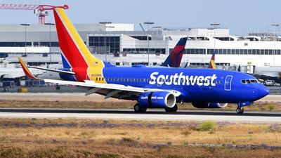 N558WN - Boeing 737-73V - Southwest Airlines