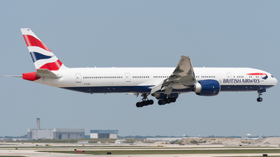 A picture of GSTBO - Boeing 777300(ER) - British Airways - © bill wang