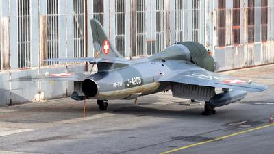 A picture of HBRVP - Hunter T.Mk.68 - [41HR/003206] - © Stefan Bratner