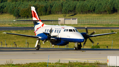 OY-SVB - British Aerospace Jetstream 32EP - British Airways (Sun-Air)