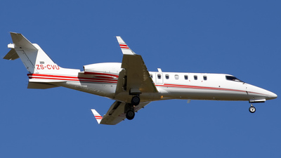 ZS-CVU - Bombardier Learjet 45 - Private