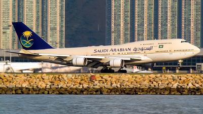HZ-AIW - Boeing 747-468 - Saudi Arabian Airlines