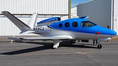 N49CJ - Cirrus Vision SF50 G2 - Private