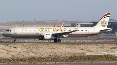 A6-AEA - Airbus A321-231 - Etihad Airways