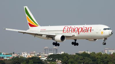 A picture of ETAMF - Boeing 7673BG(ER) - Ethiopian Airlines - © Murad Hashan