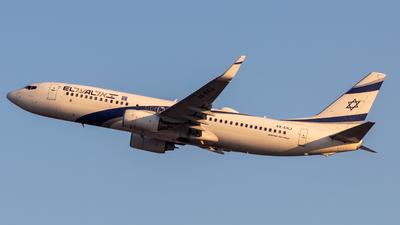 A picture of 4XEKJ - Boeing 73785P - El Al - © noamh