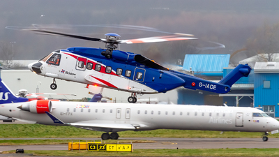 A picture of GIACE - Sikorsky S92A Helibus - Bristow Helicopters - © Ethan Hew - p_nilly
