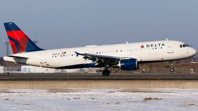 N317US - Airbus A320-211 - Delta Air Lines