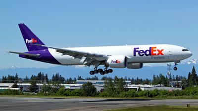 N845FD - Boeing 777-FS2 - Federal Express