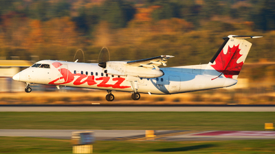 C-FRUZ - Bombardier Dash 8-311 - Jazz Aviation