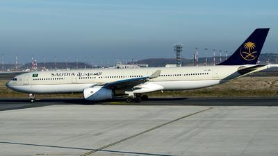 A picture of HZAQ11 - Airbus A330343 - Saudia - © Alp AKBOSTANCI