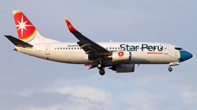 A picture of OB2181P - Boeing 7373H4 - Star Peru - © Juan Manuel Temoche - SPJC Spotter